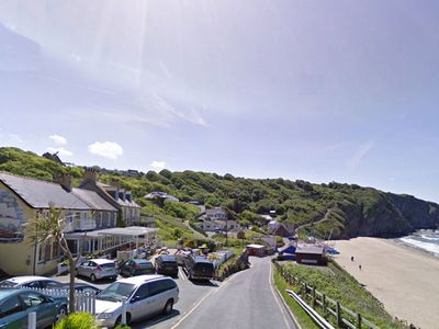 Photo for Second floor flat in Tresaith with great sea views. Tresaith has a great local pub, shop and a great