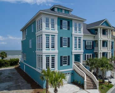 Photo for Oceanfront w/ Pool, Amazing Views, Elevator, Private Boardwalk & Pool Table!