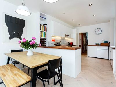 Photo for Peaceful 5BR house with garden in Dulwich, easy way to Central London, by Veeve