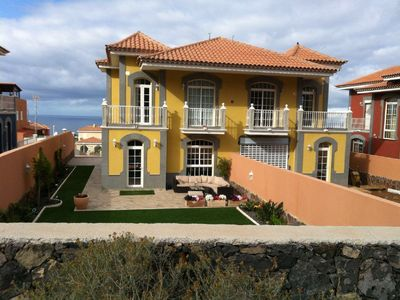 Photo for Villa Gialla family villa in madronal (private garden and heated swimming pool)
