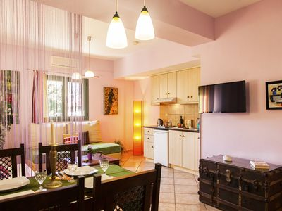 Photo for 1BR Apartment Vacation Rental in agia efimia