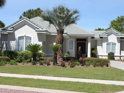 Photo for Awesome Home with NEW Private Pool with whirlpool jets and Street Legal Golf Cart for quick beach trips!