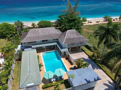Photo for ** Summer Specials *** Beachfront , Private Chef to prepare meals, AC, Free WIFI,