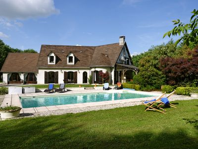 Photo for Magnificent property for 14 people with private pool heated to calm