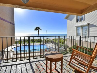 Photo for Beachfront Condo Over Peaceful Indian Shores- See Our Winter Deals NOW!!