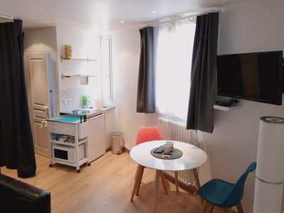 Photo for Renovated Studio Near Buttes Chaumont