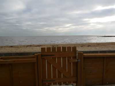 Photo for Detached 2 Bedroom house on a Sandy Beach Front - The Blue House