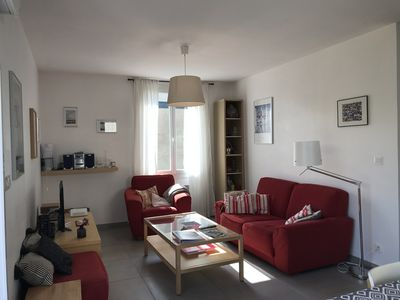 Photo for Nice and bright house with south facing garden, 500metres from the sea.