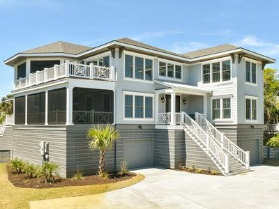 Photo for Stunning Beach House, Fully Renovated, Private Pool, Theater Room, Steps from the Beach.$250 Vayk...