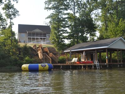 Photo for 6500sf Luxury Home on Main Lake Cove - min. off I85