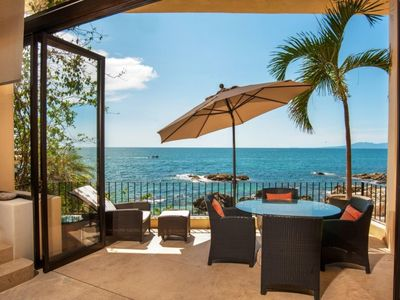 Photo for Spectacular Serene Private Oceanfront Retreat -prized quiet close-in location