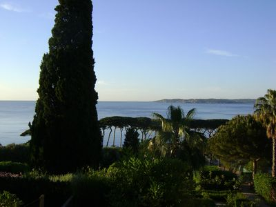 Photo for STUNNING SEA VIEWS STUDIO SAINTE-MAXIME 4 PERS GULF OF ST TROPEZ