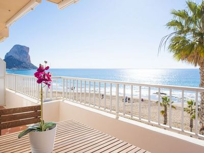 Photo for 2 bedroom Apartment, sleeps 3 with Air Con, FREE WiFi and Walk to Beach & Shops