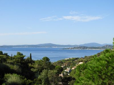Photo for VILLA 250 M2 VERY NICE SEA VIEW ON THE GOLF OF SAINT TROPEZ