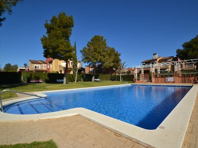 Photo for VERDI 11:Villa with private garden-2Bedrooms-Residence with Sw.pool-Easy access Miami Playa's Beach