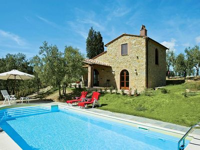 Photo for One bedroom Villa, sleeps 2 in San Cipriano-S.Barbara-Centinale with Pool, Air Con and WiFi