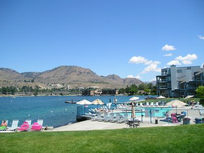 Photo for Lake Front Condo At Peterson's Waterfront