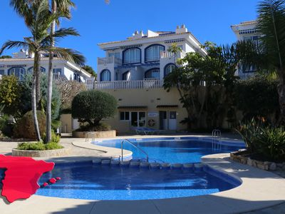 Photo for Beautiful bungalow with nice view and close to the center of Calpe