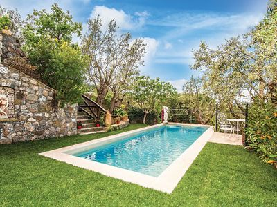 Photo for Villa Fortina is a typical Italian property perched on the hillside near Massa Lunbrense, on the Sorrentine peninsula.