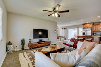 Living Room - Welcome to Old Town Scottsdale, where your home is professionally managed by TurnKey Vacation Rentals!