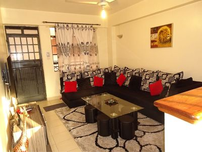 Photo for Comfortable apartment next to the National Museums of Kenya.