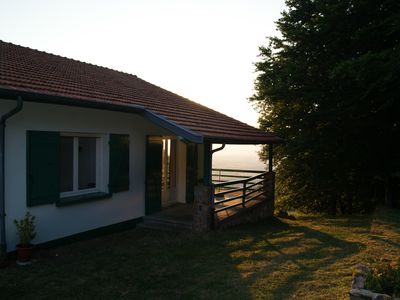 Photo for Gîte of the squirrel, independent, not overlooked, on property of 7000m2 of wood