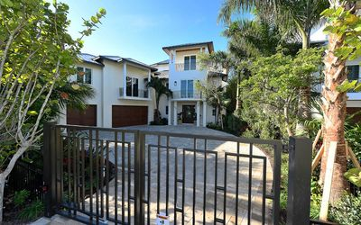 Photo for Luxury 4 bedroom beach front home with breathtaking views on Longboat Key!