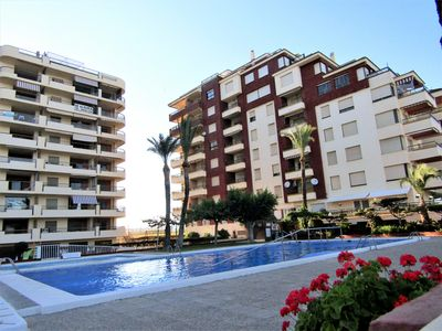 Photo for Apartment Albatros 1st line. Pool. Parking.