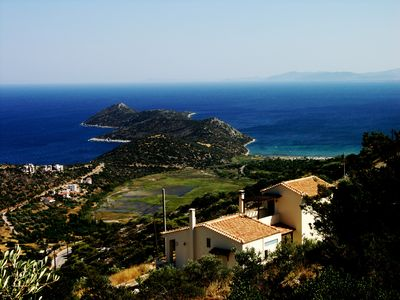 Photo for Aeolos Villa Overlooking the Sparkling Waters of the Aegean