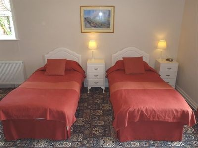 The Twin Room, with two single beds