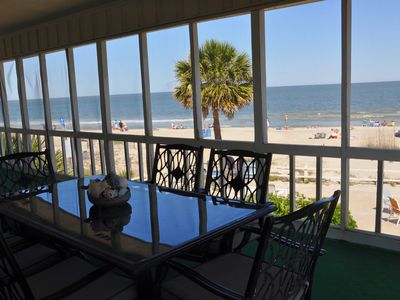 Photo for Oceanfront Fabulous for Families, Sleeps 10 Best View on Tybee