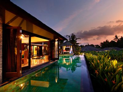 Photo for A Peaceful 4 Bedroom Villa in Canggu!