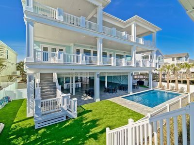 Photo for Oceanfront, 12 Bedrooms, Pool, Wedding Friendly