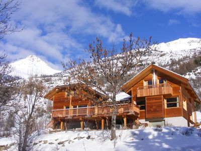 Photo for Chalet Serre Chevalier - sleeps 18 - 400m2