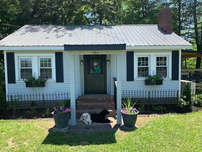 Photo for Cozy cottage with direct river access - perfect for fishing or weekend escape