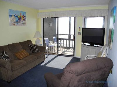 Photo for Tilghman Beach and Racquet Club Unit: 304! Oceanfront 3 Bedroom Condo. Book now for best rates!