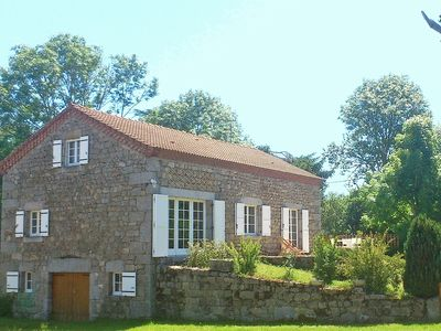 Photo for Beautiful quiet stone house in peaceful hamlet in Auvergne
