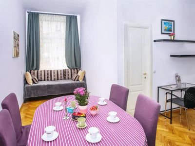 Photo for Tyrsova Superb  apartment in Nove Mesto with WiFi & lift.