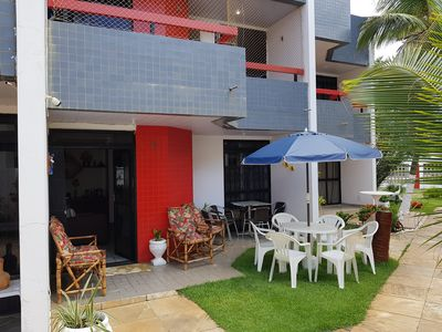 Photo for 3 bedrooms, 01 Suite all with AR and Balcony SEA VIEW, TV TO CABLE, WI-FI