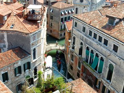 Photo for Perfect Timeless Venice from high above in a noble palace with 360 degree views