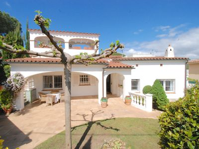 Photo for Ref. 3060 / HUTG-022955 FANTASTIC VILLA IN THE URB. SANT AMANÇ, WITH GARDEN, POOL, WIFI &