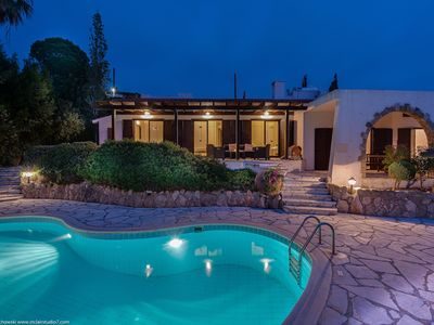 Photo for Kamares Estate by #Paphos4U 5BR, HTD* Pool, Panoramic SEA VIEW, Fireplace, BBQ