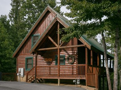 Photo for Cozy Bear Cabin | Game Room | Hot Tub | Wi-Fi | Dog Friendly | Community outdoor pool