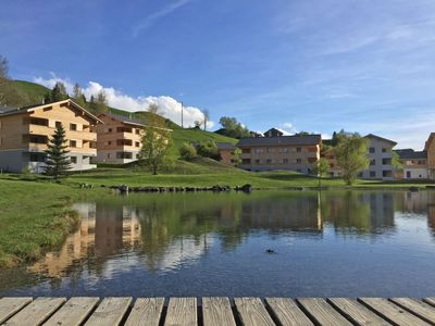 Photo for Apartment in the center of Breil-Brigels with Parking, Internet, Washing machine, Pool (668529)