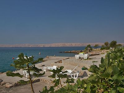 Photo for Right on the private beach with stunning sea views - Apartment Amaris
