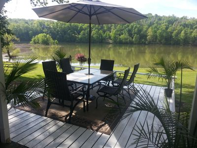Photo for Lakehouse has a view like No Other plus Easy Access!