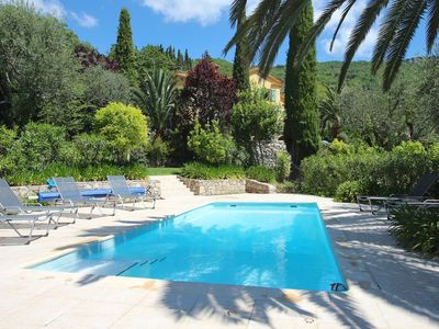 Photo for Villa in Chataunef de Grasse, Cote d'Azur with Private Pool and Stunning Views