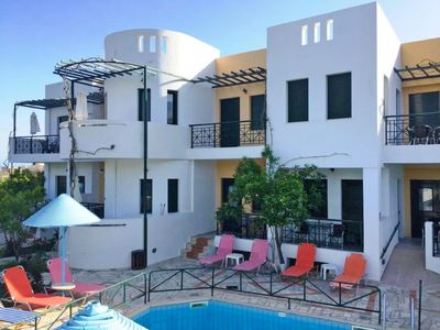 Photo for One bedroom Apartment, sleeps 4 in Mirtos with Pool, Air Con and WiFi
