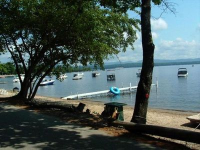 Photo for Lake Ossipee Cottage Rental W/Dock, Mooring & Private Beach! We are pet friendly