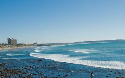 Beautiful Pacific Beach Coast line